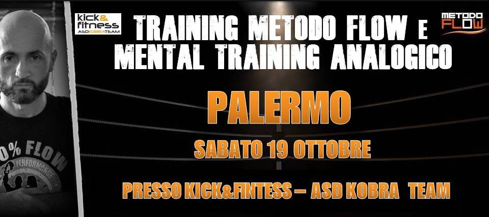 Palermo – Training flow e mental training